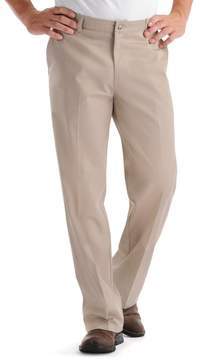 Lee Men's Custom Fit Relaxed-Fit Flat-Front Pants