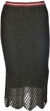 Chiara Bertani Knit Skirt
