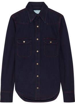 Calvin Klein Denim Shirt - Dark denim