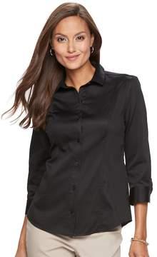Dana Buchman Women's Button-Up Shirt