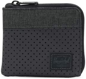 Herschel dotted zip purse
