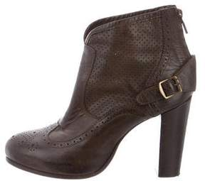 Belstaff Leather Brogue Booties