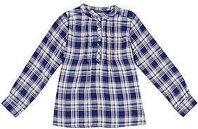 Nautica Little Girls' Plaid Popover Shirt (4-6x)