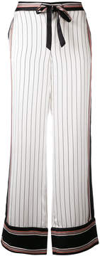 Equipment x Kate Moss striped trousers