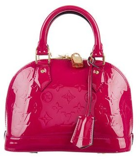 Louis Vuitton Monogram Vernis Alma BB - PINK - STYLE