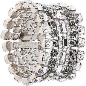 Alberta Ferretti layered rhinestone bracelet