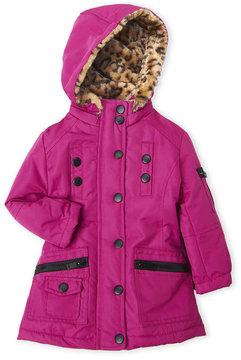 Urban Republic Toddler Girls) Faux Fur Ballistic Jacket