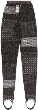 Circus Hotel patchwork knit trousers