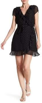Bardot Foil Spotty Dress