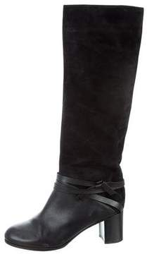 Veronique Branquinho Knee-High Suede Boots