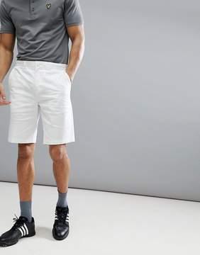 Lyle & Scott Golf Glenrothes Slim Chino Short In White