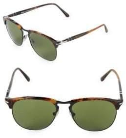 Persol 56MM Clubmaster Sunglasses