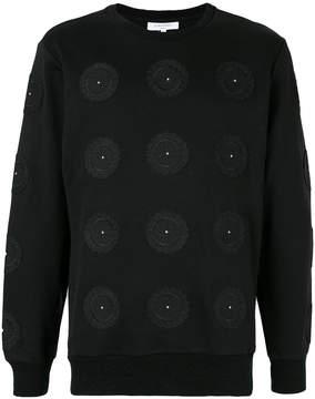 Les Benjamins Mahnkala embroidered sweatshirt