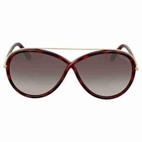 Tom Ford Tamara Dark Havana Sunglasses