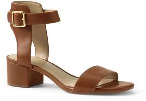 Lands' End Lands'end Women's Heeled Ankle Strap Sandals