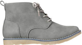 Joe Fresh Kid Boys' Essential Chukka Boots, Grey (Size 2)
