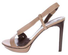 Jil Sander Slingback Platform Sandals