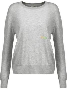 Autumn Cashmere Intarsia-Knit Cashmere Sweater