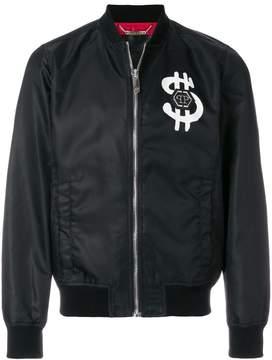 Philipp Plein Dollars bomber jacket