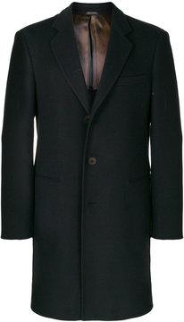 Giorgio Armani classic single-breasted coat