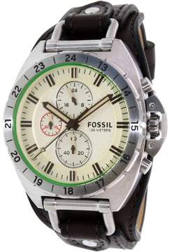 Fossil Breaker CH3004 White Dial Watch