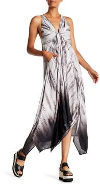 Desigual Racerback Sleeveless Maxi Dress