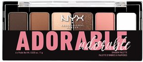 Charlotte Russe NYX Professional Makeup Adorable Eye Shadow Palette