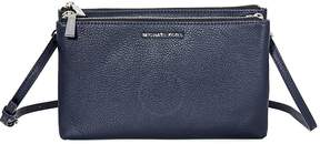 Michael Kors Adele Double-Zip Crossbody Bag- Admiral - ONE COLOR - STYLE
