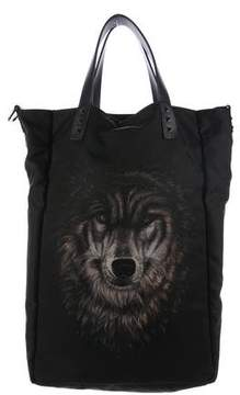 Valentino Animalia Wolf Tote