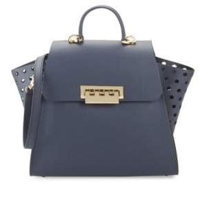 Zac Posen Eartha Leather Shoulder Bag