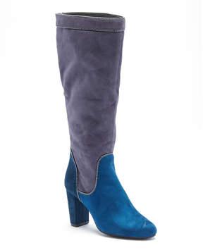 Rialto Navy & Silver Collette Tall Boot