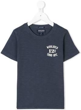 Woolrich Kids logo print T-shirt