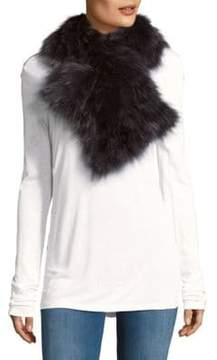 Adrienne Landau Pull Through Fox Fur Scarf