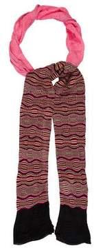 M Missoni Skinny Knit Scarf