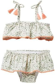 Jessica Simpson 2-Piece Swimsuit (Baby Girls 12-24M)