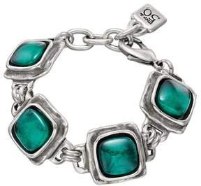 Uno de 50 The Last Drop Resin Square Bracelet