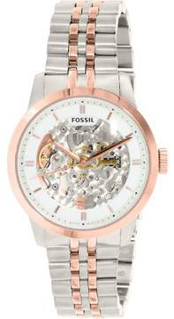 Fossil Townsman ME3075 White Dial Watch