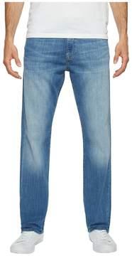 Mavi Jeans Myles Mid-Rise Straight Leg in Mid Blue Portland Men's Jeans