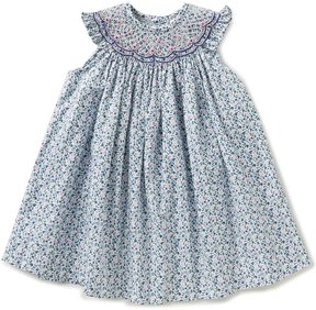 Edgehill Collection Baby Girls 3-9 Months Embroidered Ditsy Print Dress