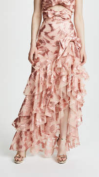 Rodarte Ruffled Skirt with Bow Detail