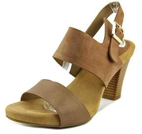 Giani Bernini Aikko Open Toe Suede Sandals.
