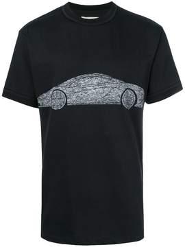 Ih Nom Uh Nit car print T-shirt