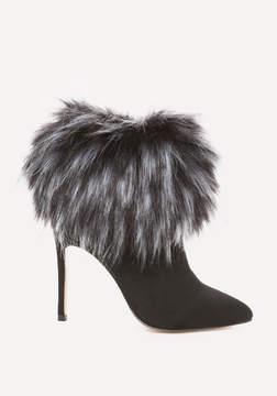Bebe Mynka Faux Fur Booties