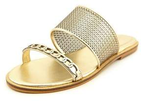 Enzo Angiolini Jioni Women Open Toe Synthetic Slides Sandal.