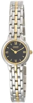 Citizen Silhouette EW9334-52E Two-Tone Analog Eco-Drive Women's Watch