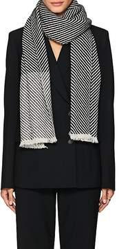 Barneys New York Women's Striped Cashmere Scarf