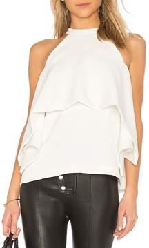 Edit Kimono Split Sleeves Top White