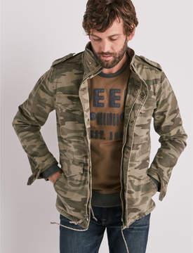 Lucky Brand M65 Military Camo Jacket