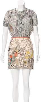 Cacharel Printed Mini Dress