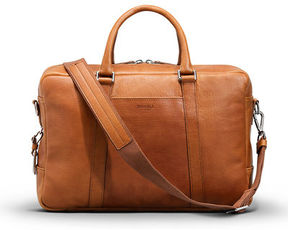 Shinola Slim Leather Briefcase